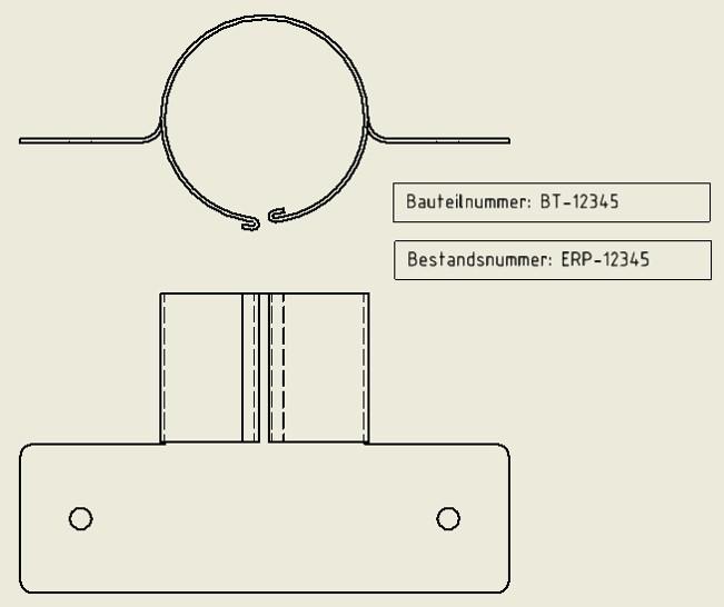Symboltext mit iProperties füllen: Inventor greift auf angegebene iProperties zu