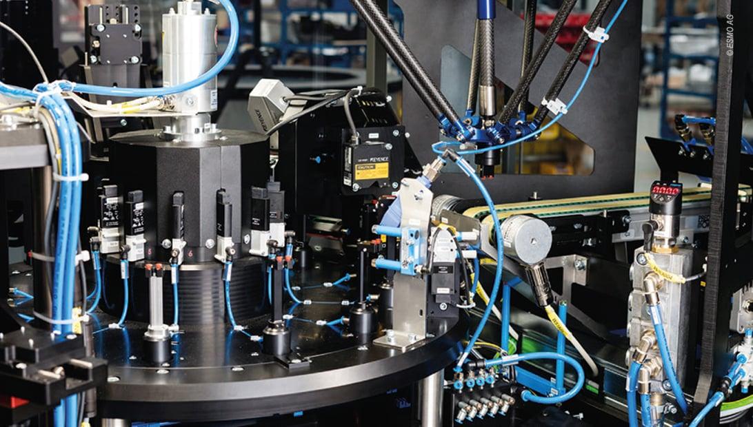 Die Esmo AG vereinfacht die  Produktentstehung mit Eplan und Cideon: Solidworks und Eplan Daten werden automatisiert zusammengeführt.