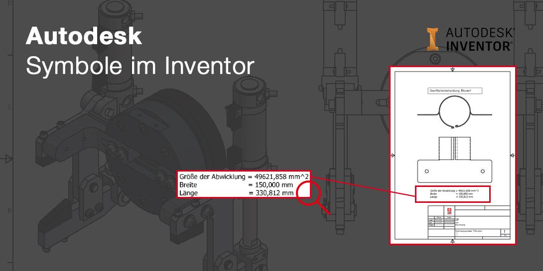 Tipps und Tricks für Autodesk Inventor: Symbol mit benutzerdefinierten Eigenschaften aus Modellen