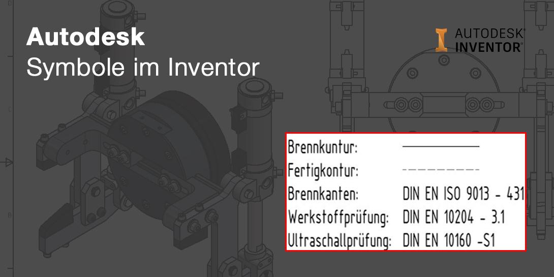 Die Symbolbibliothek im Inventor bietet Konstrukteuren viele Vorteile.