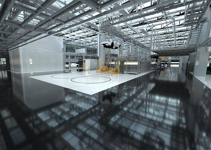 Digitale Fabrik: Höchste Detailtreue vermeidet Planungsfehler
