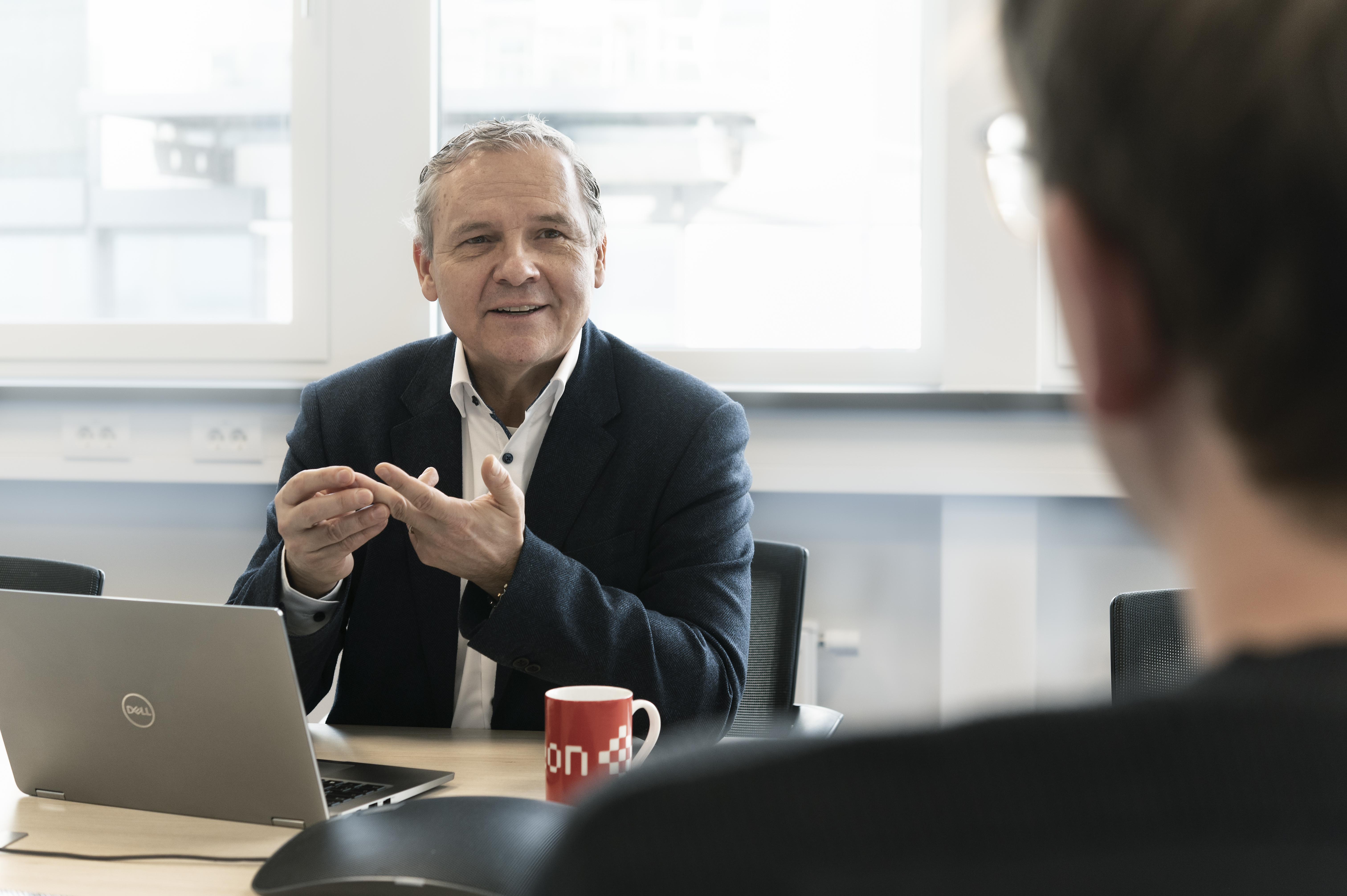 CIDEON Geschäftsführer Dr.-Ing. Clemen Weis im Gespräch