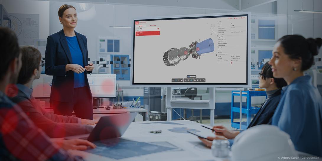 Mit Autodesk Forge können operative Prozesse einfach und schnell visualisiert werden.