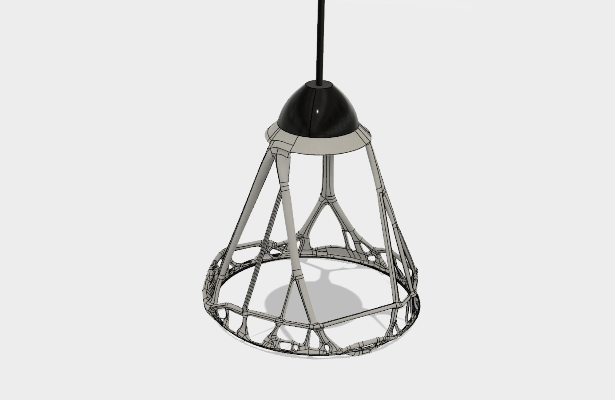 Genrative-Design_Lampe_Fusion_360