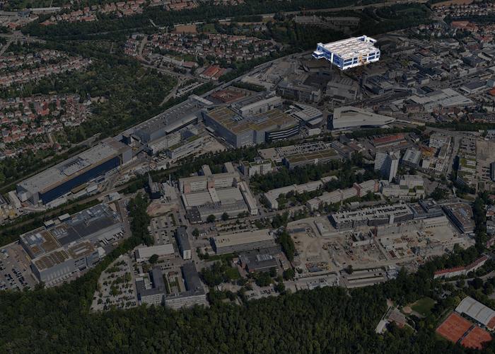 Porsche Werk Stuttgart/Zuffenhausen: Produktionsstätte des neuen Porsche Taycan